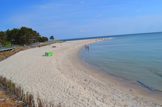 Plaża Na cyplu HEL
