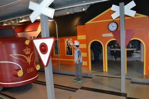 Muzeum Kolejnictwa Odense atrakcje dla dzieci