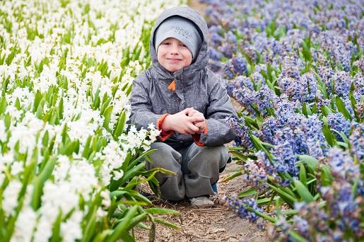 atrakcje dla dzieci Keukenhof Holandia