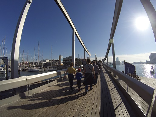 Port Vell Barcelona atrakcje dla dzieci Akwarium