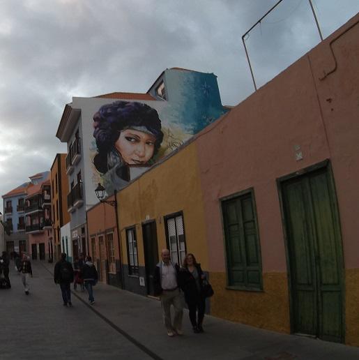 Murale Puerto de la Cruz - atrakcje