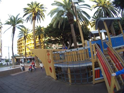 Place zabaw dla dzieci Puerto de la Cruz