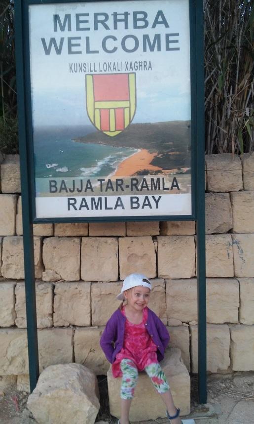 Ramla Bay najlepsza plaża Gozo Malta opinie
