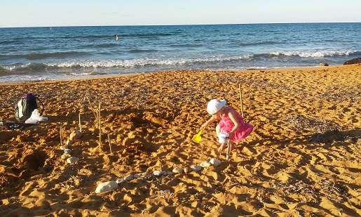 Ramla Bay najlepsza plaża Gozo Malta