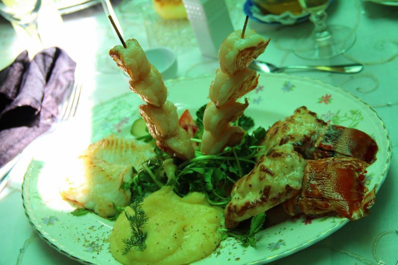 Wakacje na Kubie jedzenie