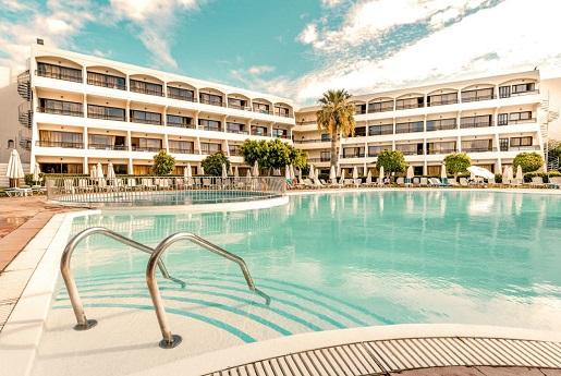 Rodos smartline Cosmopolitan opinie hotele z basenem Grecja z dzieckiem