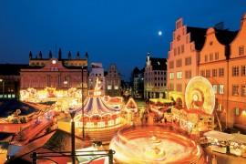 Rostock Jarmark Bożonarodzeniowy