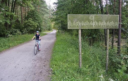 Roztocze ścieżki rowerowe - wakacje z dzieckiem Zwierzyniec
