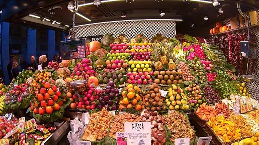 Rynek La Rambla La Boqueria atrakcje Barcelona (3)
