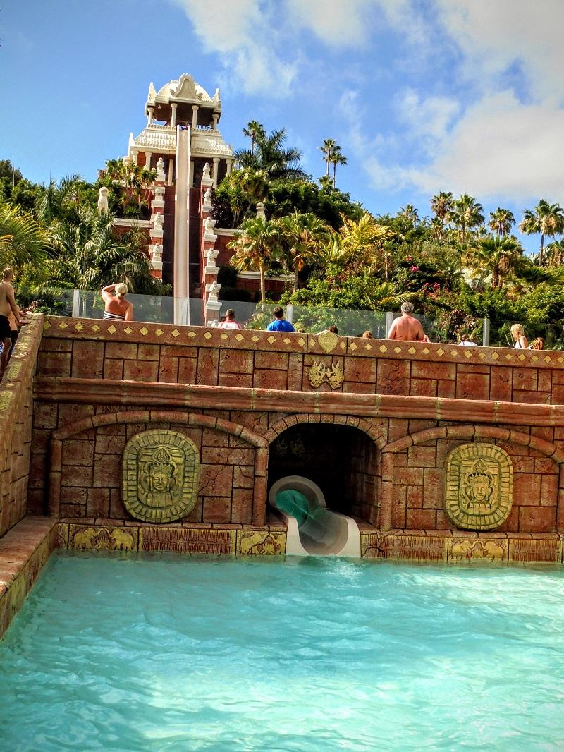 park wodny Siam Park Teneryfa rodzinne atrakcje