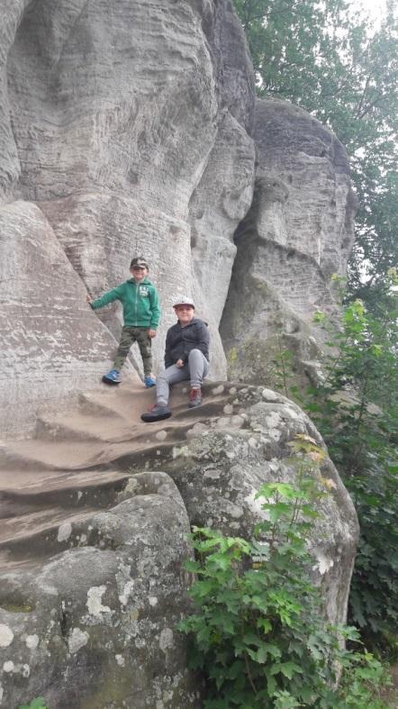 Skalne Miasto Czechy zwiedzanie z dziećmi 2017