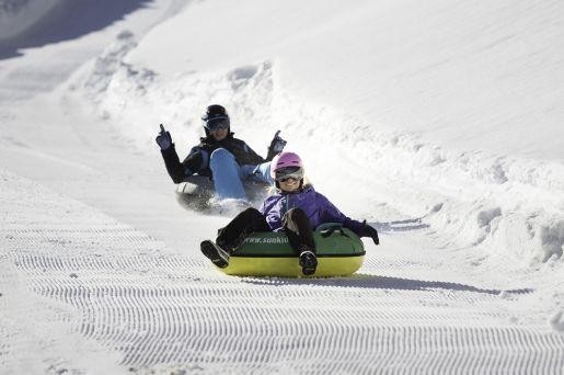 Zillertal Arena atrakcje dla dzieci snowtubing Gerlos