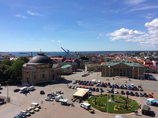 Stortorget Karlskrona atrakcje dla dzieci co zobaczyć