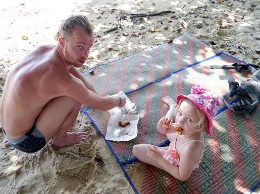 Tajlandia wyspy wakacje z dzieckiem - plaże  Koh Yao Noi- Krabi