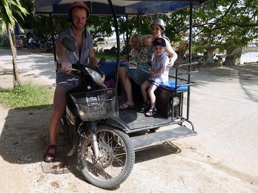 Tajlandia zwiedzanie z dziećmi - opinie wakacje