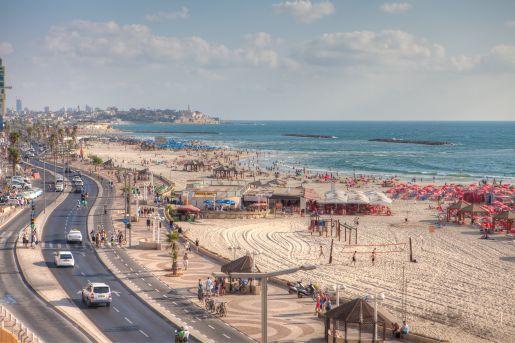 Izrael plaże opinie Tel Awiw z dzieckiem