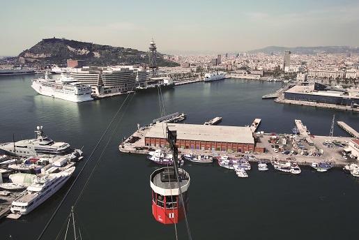 Transbordador Aeri del Port Barcelona kolejka linowa