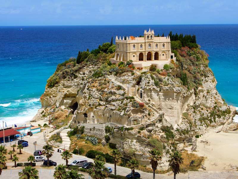 rodzinne atrakcje Kalabria Włochy Tropea