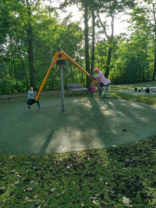 Ustroń plac zabaw dla dzieci atrakcje