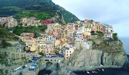 Włochy Cinque Terre plaża mapa opinie 2