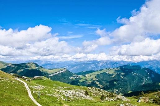 Włochy Garda Alpy widoki zdjęcia opinie