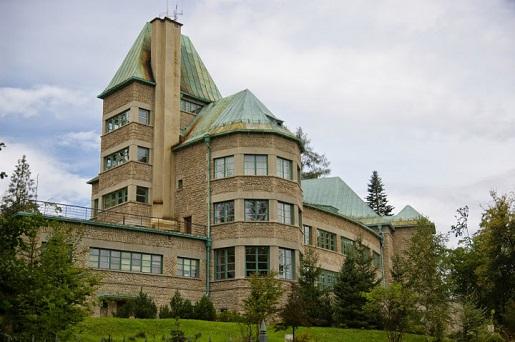 Wisła Zamek Prezydencki atrakcje - góry z dzieckiem
