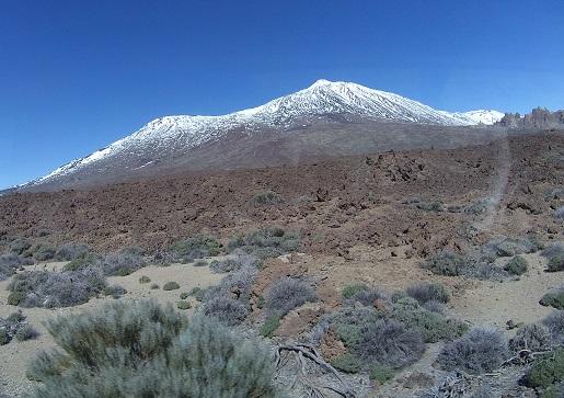 pola lawy wulkan Teide Teneryfa wycieczka