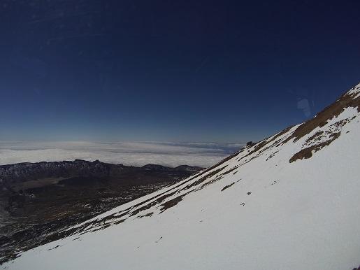 morze chmur - widoki z Teide wulkan Teneryfa