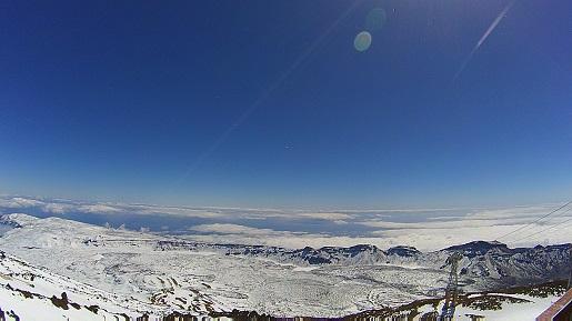 morze chmur - widoki z Teide wulkan Teneryfa zwiedzanie