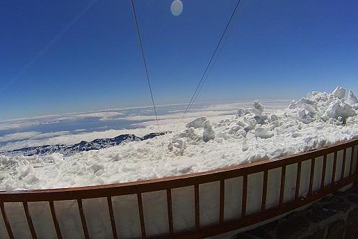 zima na Teide - pogoda temperatury opinie
