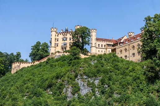 Zamek Hohenschwangau Bawaria z dziećmi atrakcje