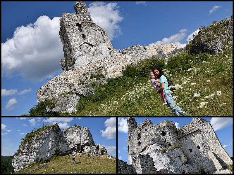 Zamek mirów z dzieckiem szlak orlich gniazd