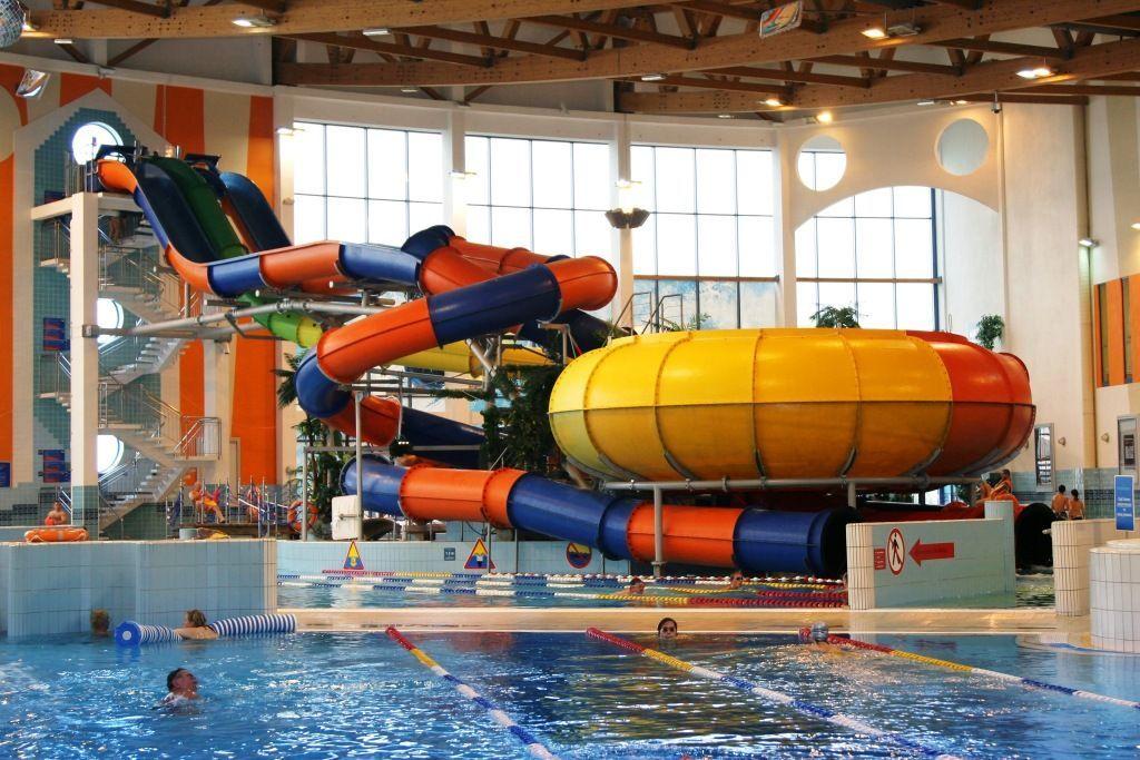 Zjeżdżalnie Park Wodny Kraków Aquapark