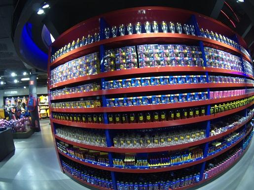 Barcelona stadion Camp Nou sklep ceny pamiątki