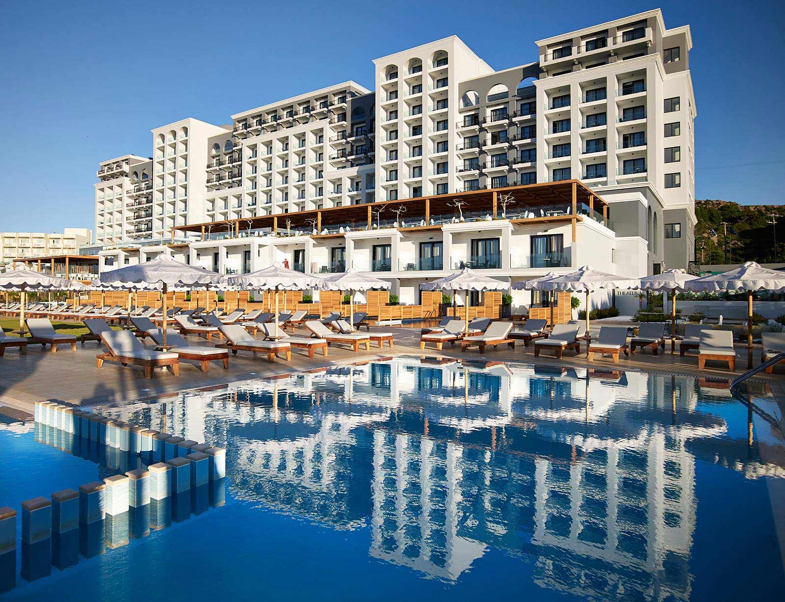 najlepsze hotele rodzinne Rodos Grecja