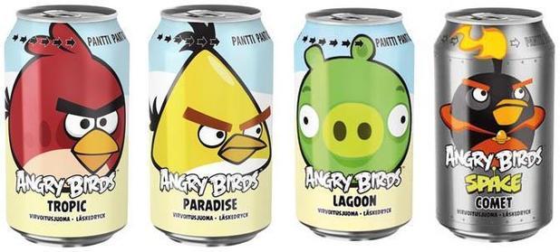 Angry Birds napoje