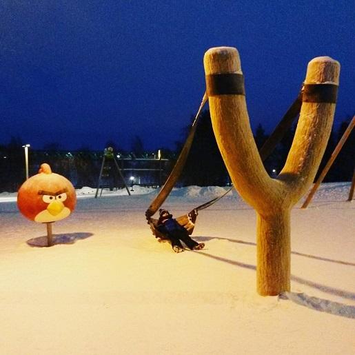 angry birds plac zabaw Rovaniemi