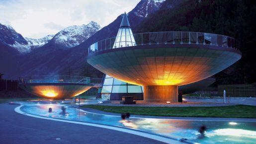 Aqua Dome Tyrol rodzinne atrakcje
