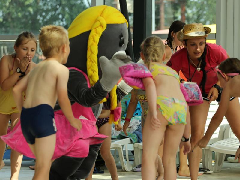 atrakcje dla dzieci lato Aquacity Poprad
