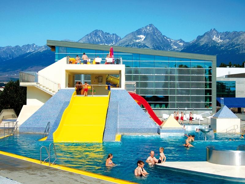 aquapark Poprad rodzinne atrakcje