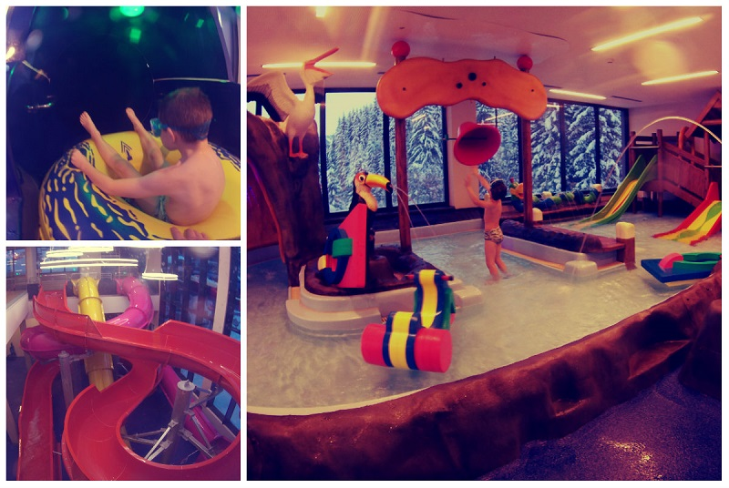 aquapark hotel austria alpy tyrol z dzieckiem