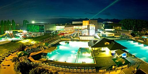 Aqua City Poprad rodzinny aquapark Słowacja