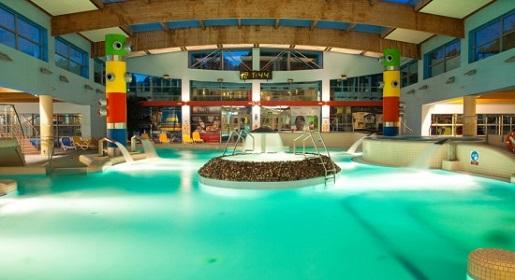 Aquapark jest ulubioną atrakcją dzieci