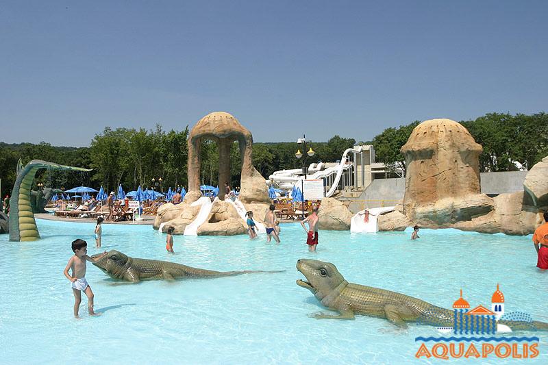 Aquapolis Złote Piaski Bułgaria rodzinne atrakcje Aquapark