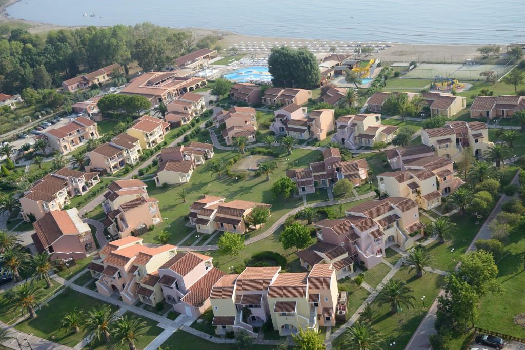 najlepsze rodzinne hotele Korfu Grecja