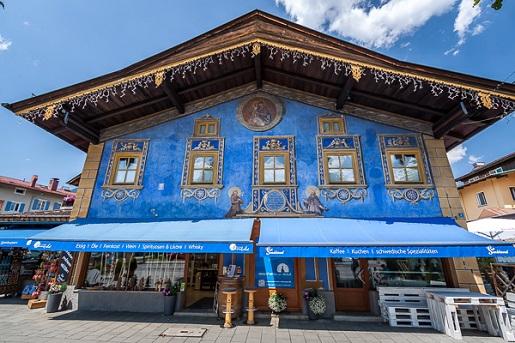 architektura Bawaria atrakcje- co zobaczyć Garmisch-Partenkirchen