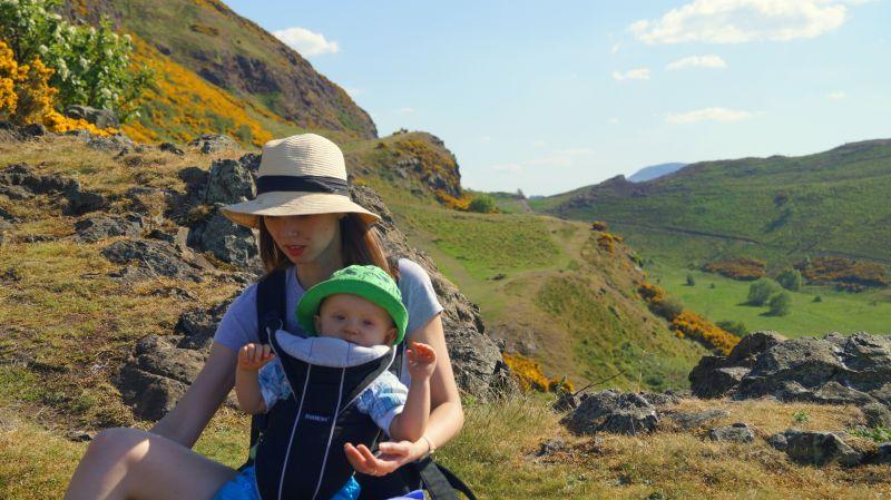 Edynburg Szkocja wakacje z niemowlakiem