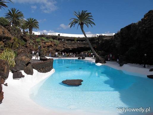 atrakcje Lanzarote zbiornik wodny Jameos del Agua