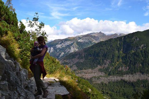 góry z dzieckiem Tatry
