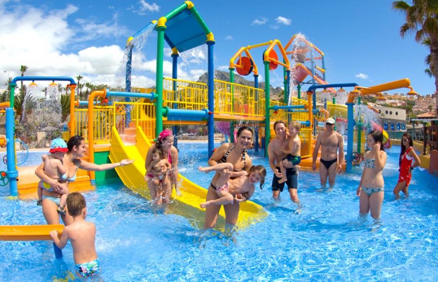 atrakcje dla dzieci aquapark Costa Adeje Teneryfa